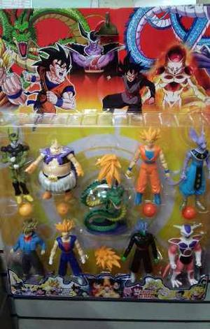 Muñecos Dragon Ball Z Goku Shen Long Pack Completo De 9