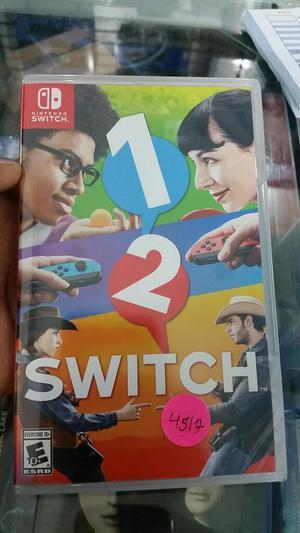 12 Nintendo Switch Nuevo y Sellado Stock