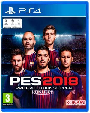 JUEGO PES 18 PS4