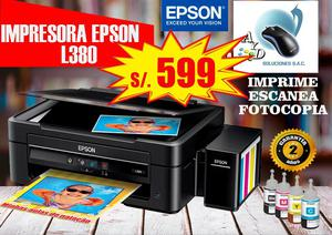 Impresora Epson L575 Multifuncional Posot Class