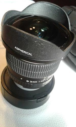 Opteka 6.5 Mm F/3.5 Hd Lente Ojo De Pez Asférica Para Nikon