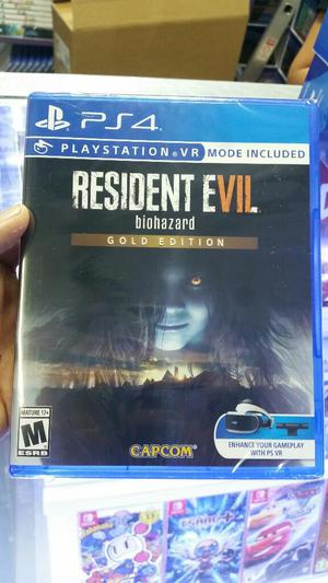 Resident Evil 7 Gold Edition Ps4 Sellado