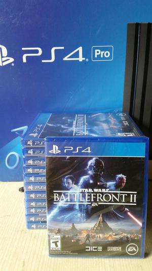 Star Wars Battlefront 2 Ps4 Nuevo Sellado stock