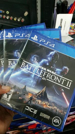Star Wars Battlefront 2 Ps4 Nuevo y Sellado Stock