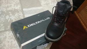 Zapatos Mineros Punta De Acero Deltaplus