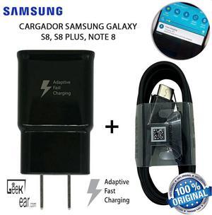 Cargador Samsung Galaxy S8 Plus Original Carga rápida Note