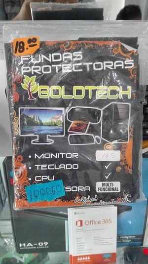 Funda Protectora Para Monitor Teclado Cpu Y Impresora