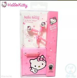 Audífonos Hands Free Con Micrófono Hello Kitty Iphone
