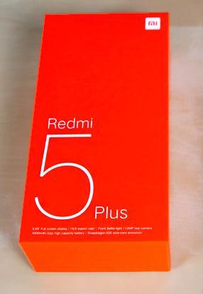 Xiaomi Redmi 5 Plus 4gb/64gb Versión global Entrega