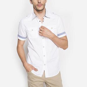 Camisa Basement Talla L Slim Fit Para Caballero