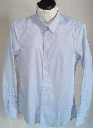 Camisa Benetton Original Nueva Talla M Slim Para Caballero