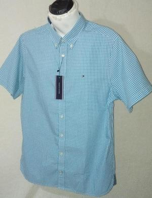 Camisa Tommy Hilfiger Original Nueva Talla L Para Caballero
