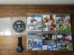 Remate Lote De Aduanas Accesorios Juegos Playstation 3 Ps3
