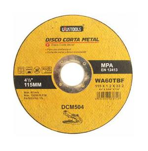 DISCO DE CORTE DE METAL 4 1/2 X 1.2MM X 7/8 UYSUTOOLS CJA X