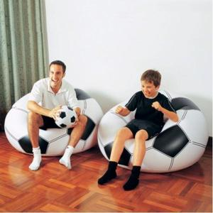 SILLON PUFF INFLABLE EN FORMA DE BALON