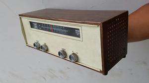 Antigua Radio National De Valvulas Funcionando