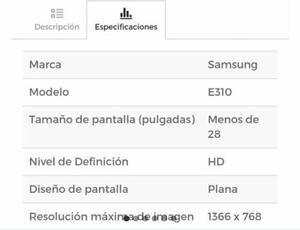 Tv Samsung 24 Nuevo  Led