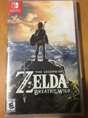 Legend Of Zelda Breath Of The Wild Juego Nintendo Switch