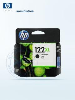 Cartucho De Tinta Hp 122xl, Color Negro, Compatible Con Hp D