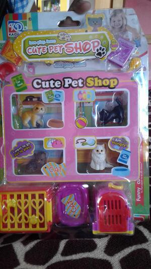 Set de Mascotas Little Pet Shop Gatitos con accesorios