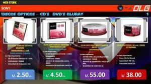 Cd-r Sony Slimcase (estuche Delgado) 700mb/80min X 1 Und.