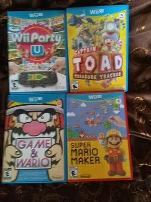 Juegos De Wii U Y Wii