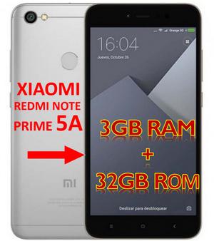 Xioami Redmi Note 5A Prime Version Global 4G Lte 3GB RAM