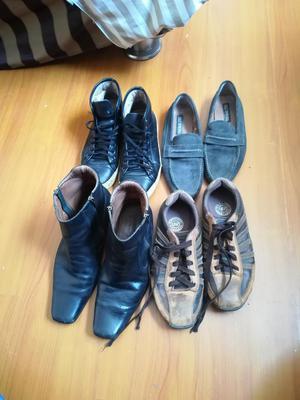 Zapatos de Hombre Cuero Talla 41