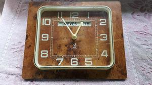 Antiguo Reloj Frances de Pared