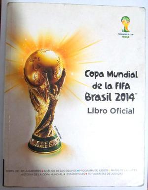 Copa Mundial de la Fifa Brasil . Libro Oficial.