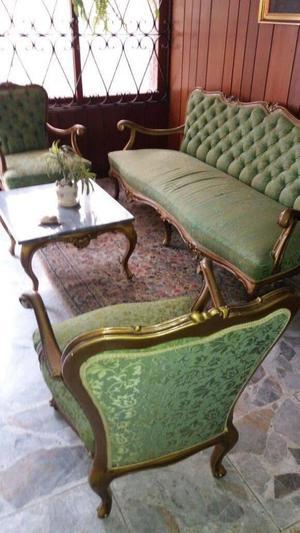 Juegos de sala y dormitorio, escritorio, sillas, muebles y