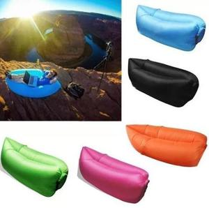 Sofa Sillon Inflable Portatil Cama Playa Camping Itelsistem