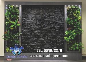 Cascadas artificiales muros llorones estanquesy posot class for Cascada artificial en pared