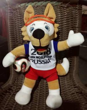 Peluche Zabivaka Mascota Del Mundial Rusia  Muñeco