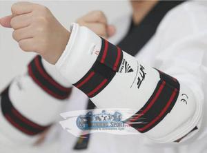 Protector De Antebrazos Importado Taekwondo Tkd Wtf