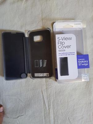 Clear View Cover Samsung Galaxy S7 Edge