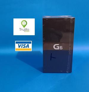 Lg G6 Caja Sellada Edicion Azul