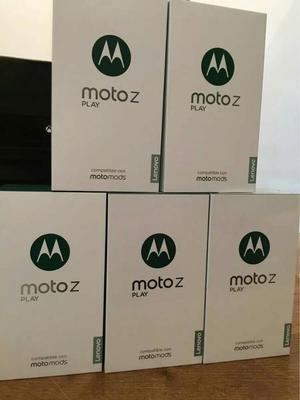 Moto Z Play, Octa Core, 3gb Ram, 32gb, Cam.16mpx Y 5mpx, con