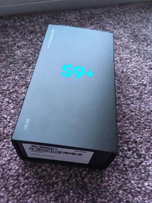 Nuevo Samsung Galaxy s9 plus sellado desbloqueado