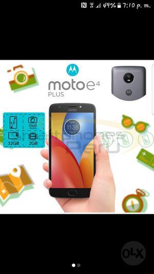 Vendo Moto E4 Plus Nuevo en Caja Sellado
