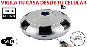 Camara IP 360 grados wifi vigila tu casa u oficina desde tus