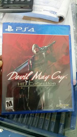 Devil May Cry Hd Collection Ps4 Nuevo Y Sellado Stock