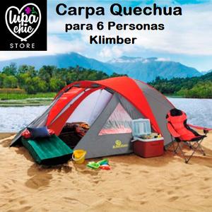 Carpa Quechua para 6 Personas Klimber