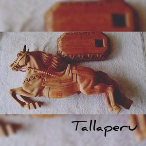 Escultura de Caballo Echo de Madera