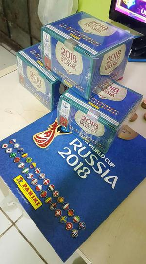 Paqueton de Figuritas Panini Rusia
