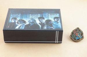 Set Box 5 Harry Potter Hogwarts House Insignia Pin Broche