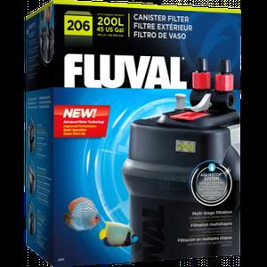 Filtro Canister FLUVAL 206 Para Acuarios de Hasta 200 L