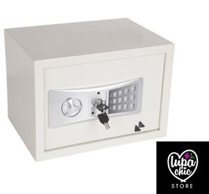 Caja Fuerte Electrónica Blanco 35x25x25cm 16.3 L Karson