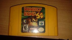 Cambio Cartucho Donkey Kong 64