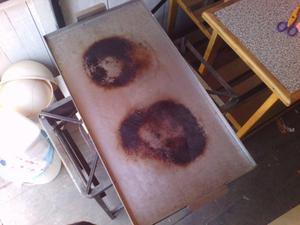 Remato mesas de cocina, plancha de acero y cocina industrial